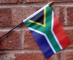 HAND WAVING FLAG (SMALL) - South Africa (New design)